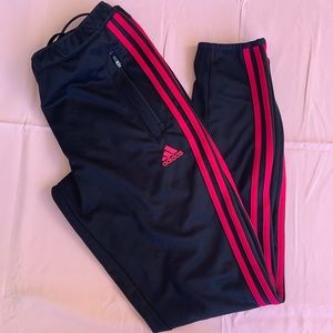 Adidas Climacool workout pants. Black/pink
